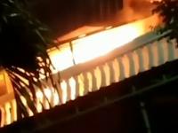 Geger! Ada Kebakaran di Daerah Palapa