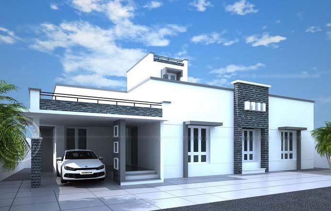 Gambar Desain Rumah Simple Modern