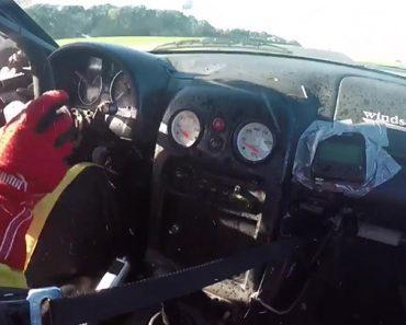 Video Il s'échappe de justesse de sa voiture qui prend feu