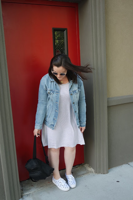 Sequins and Skulls: Minnie Mouse Kicks & My 5th Grade Backpack