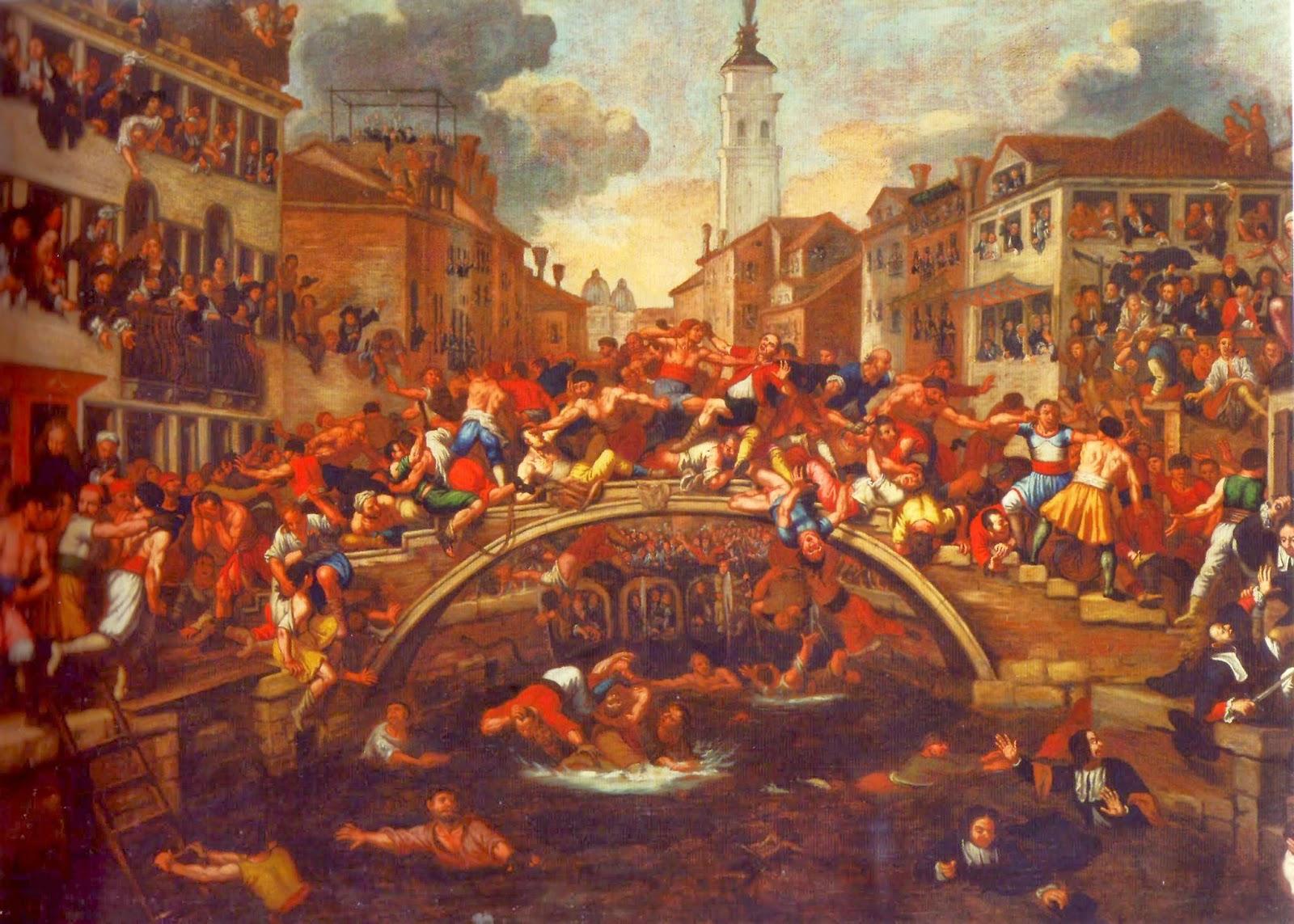 Guerre dei Pugni, Ponte dei Pugni, Venice
