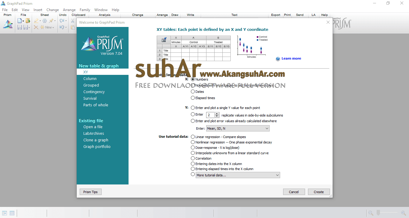 Download GraphPad Prism full version terbaru