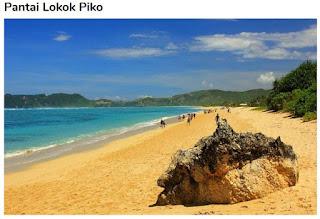 Tempat Wisata Pantai Loko Piko Lombok Utara