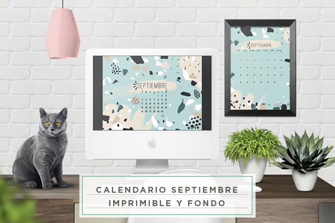 calendario septiembre imprimible fondo pantalla