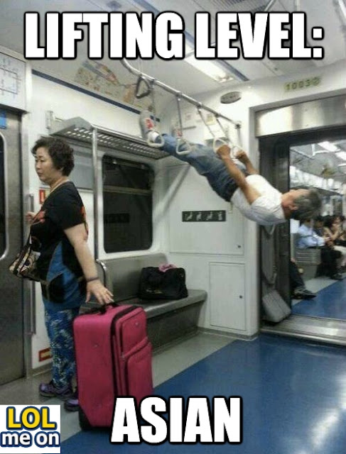 Lifting Level : Asian - Funny Picture With Caption Funny pictures