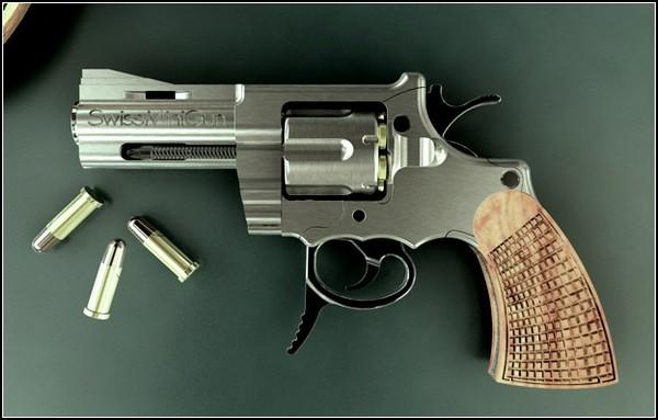 Rev lver swiss mini gun armas de fuego for Muebles para guardar armas de fuego