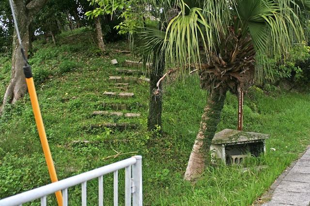 ウフンミウタキの入口の写真