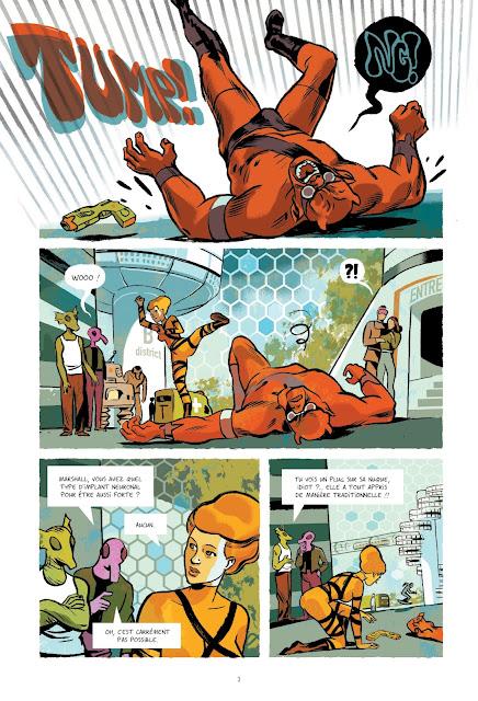"""Infinity 8 Tome 3 """"L'évangile selon Emma"""" Rue de Sèvres page 3"""