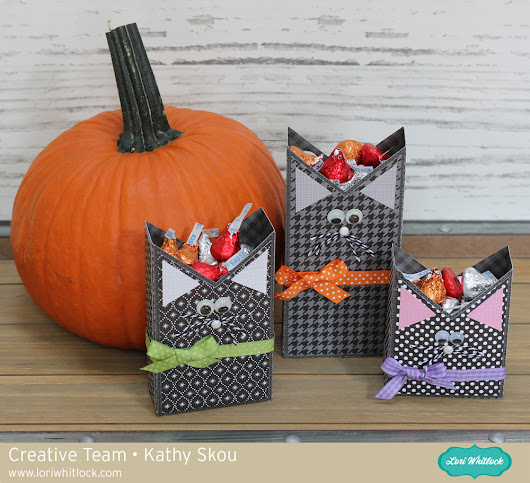 Lori Whitlock: Black Cat Treat Boxes