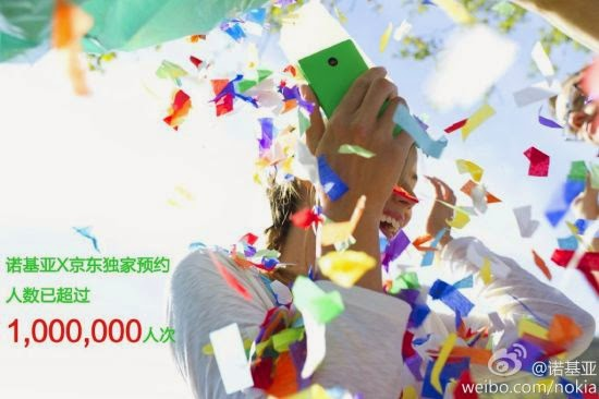 Nokia X totals 1 million pre-orders in China
