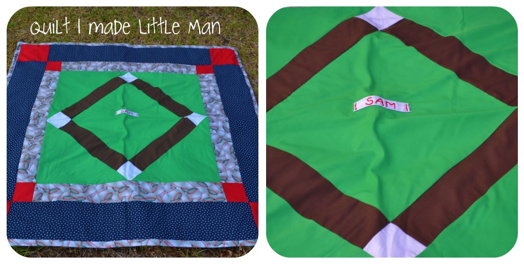 Baseball Quilt Tutorial