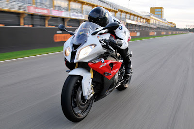 BMW S1000RR Red/Light White image