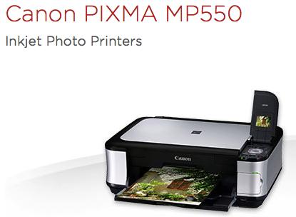 Canon PIXMA MP550 image