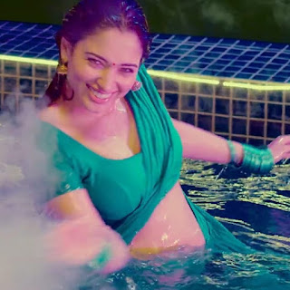 tamannaah bhatia hot saree navel in wet transparent Collection 2 Navel Queens