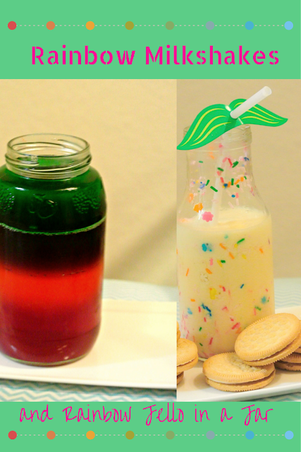 St.Patrick's Day, Rainbow Food