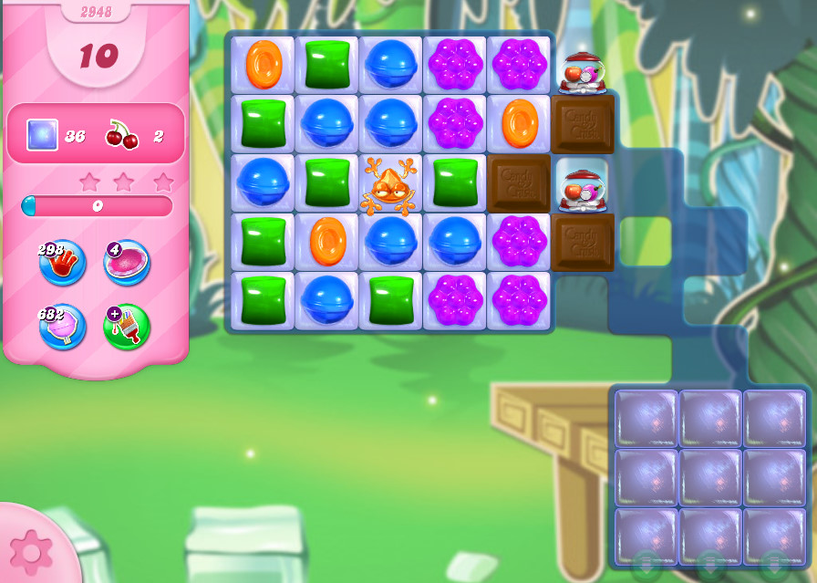 Candy Crush Saga level 2948