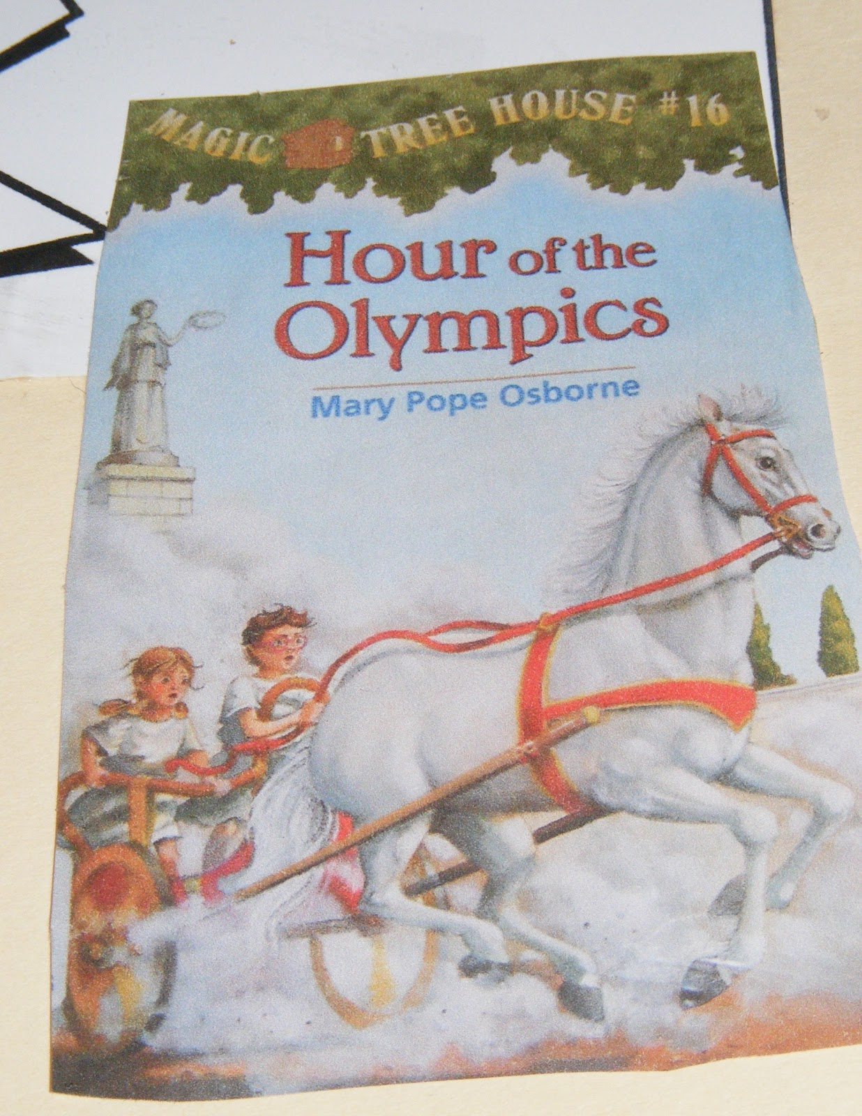 Ten Kids And A Dog Summer Olympic Lapbook Part 1