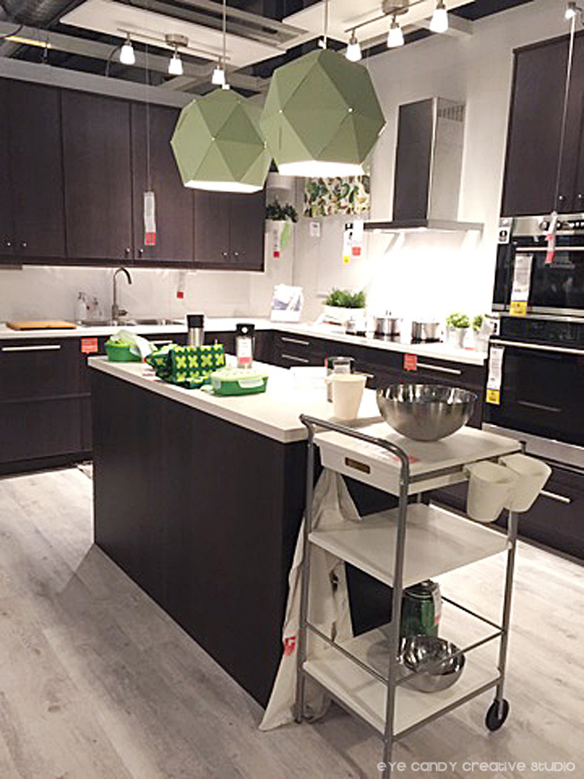 modern kitchen ideas at IKEA, modern lighting solutions, cabinets