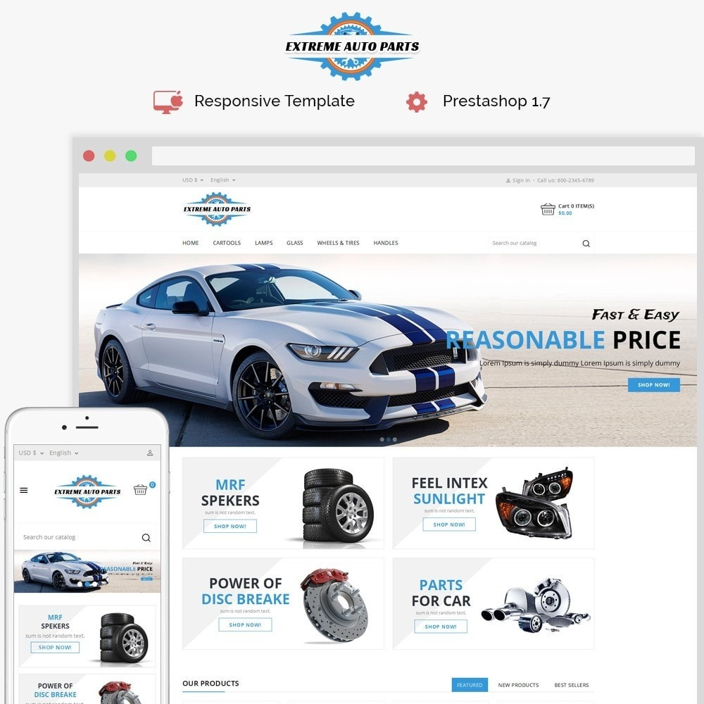 Template Trip Auto Parts Tools Opencart Theme 6 Simple Steps To A