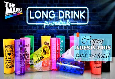 Copos Long Drinks Para Lembrancinha