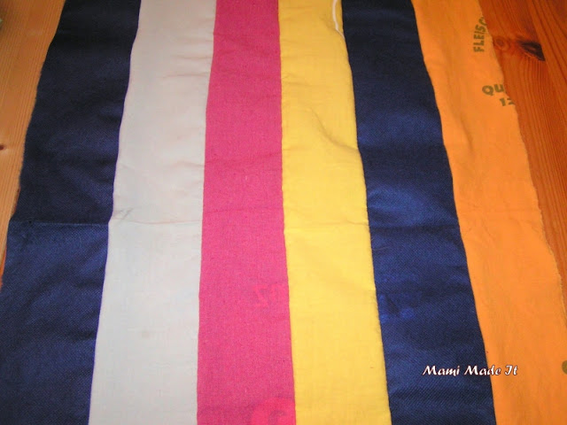 Dyed Shopping Bags - Gefärbte Einkaufstaschen
