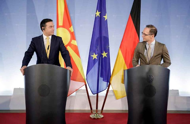Germany believes that Macedonia deserves recognition from the entire EU