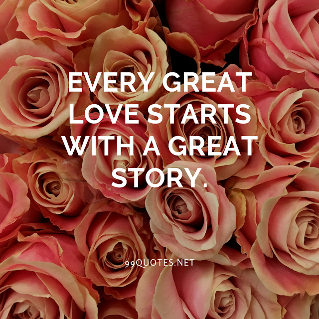 Every great love starts with a great story.
