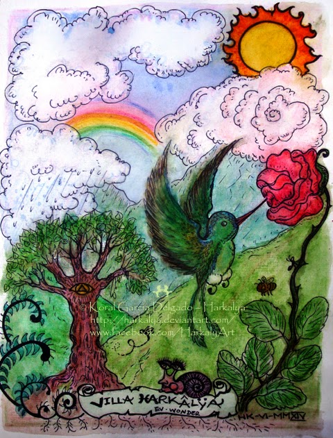 Little Things by Enchanted Visions Artist, Harkalya Reveur