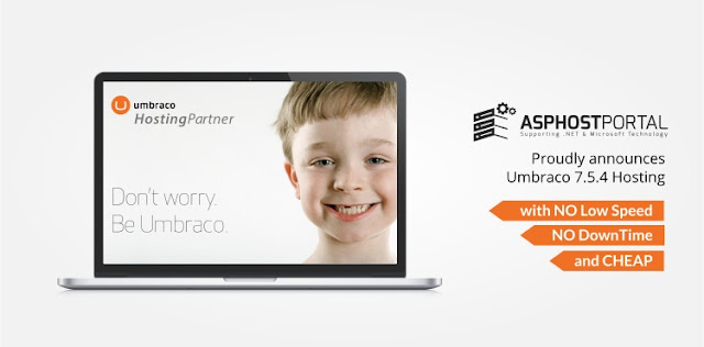 ASPHostPortal.com Announces Umbraco 7.5.4 Hosting Solution