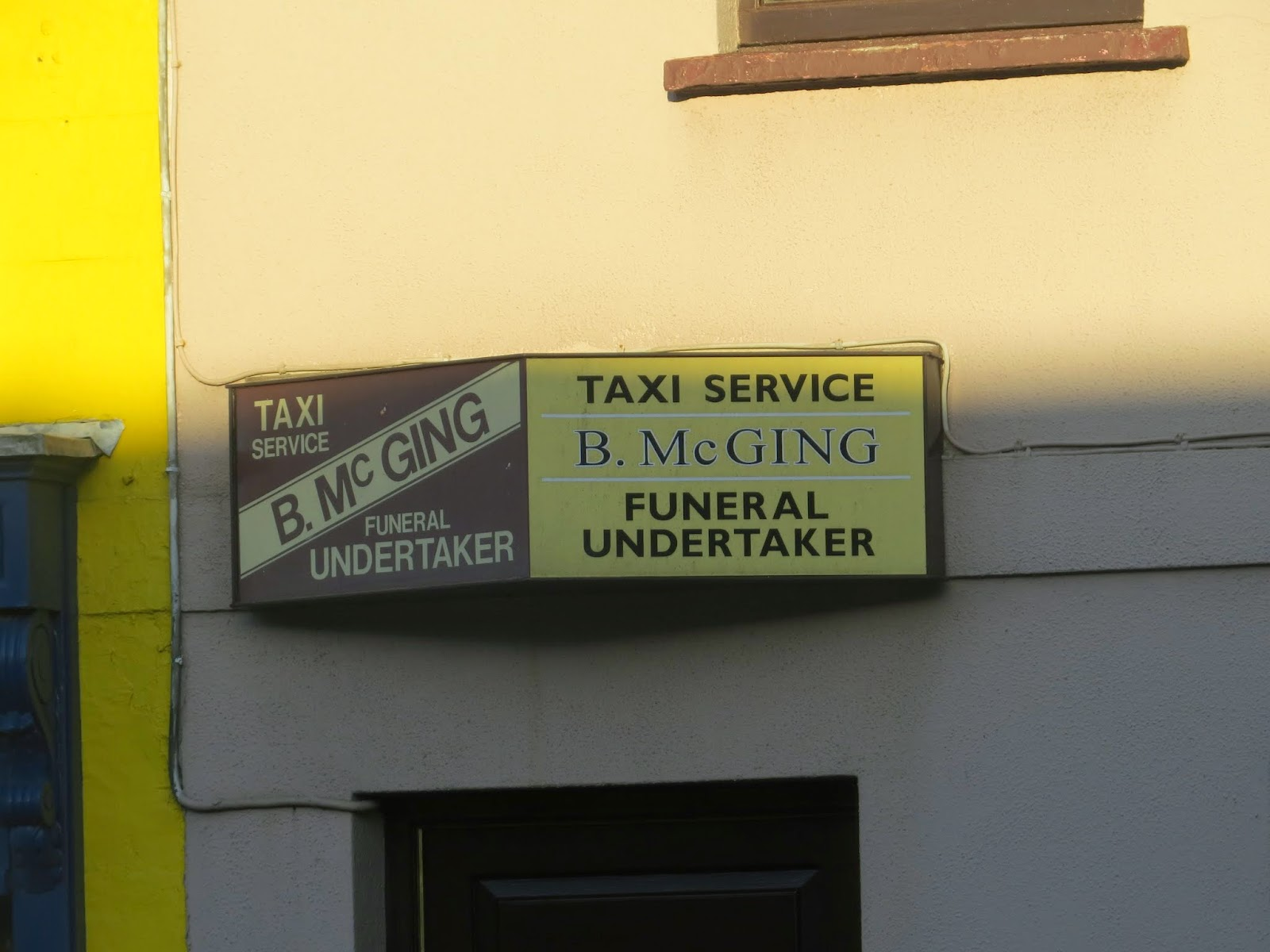 Taxi service and undertaker in Westport Ireland