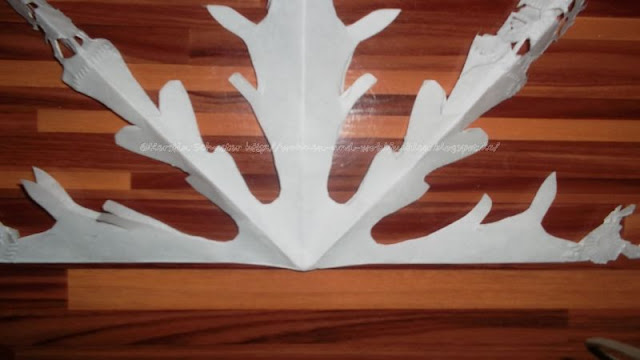 Weihnachtsschmuck aus Papier
