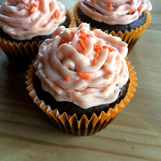 Egg free nut free cupcakes for Halloween
