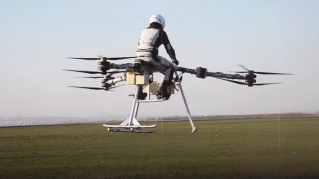 tricopter berawak