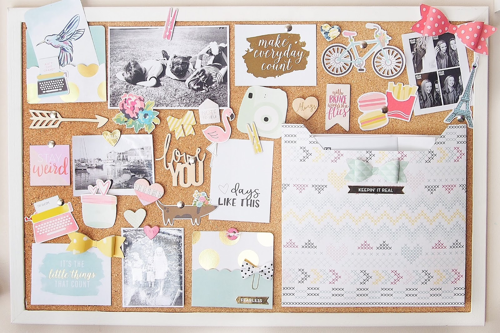 Elsie Robinson Diy Cork Board Moodboard Organisation Moodymonday