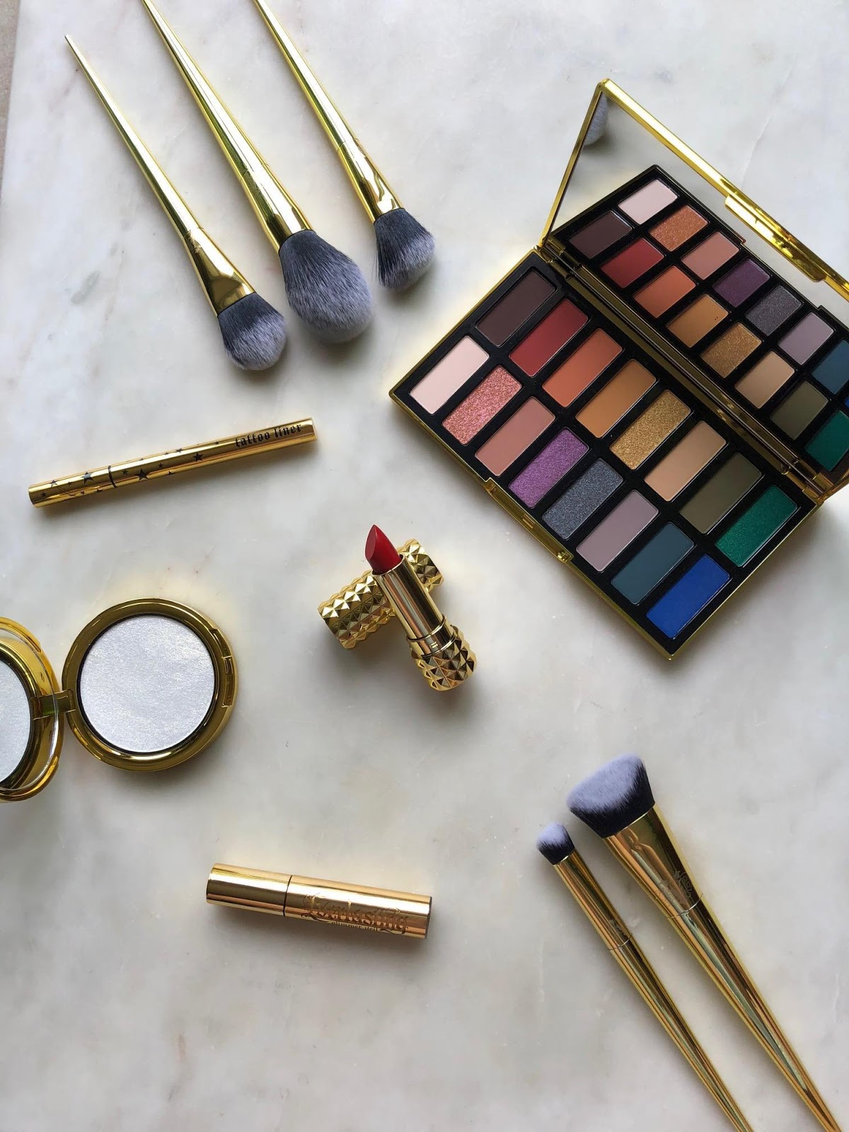 Kat Von D 10th Anniversary Collection: A quick review