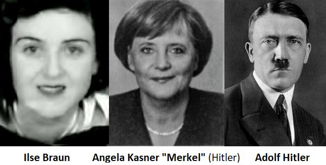 Merkel Tochter Hitler