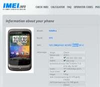 Codice IMEI telefonino
