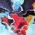 Lukisan Abstrak 90x70cm MA-052