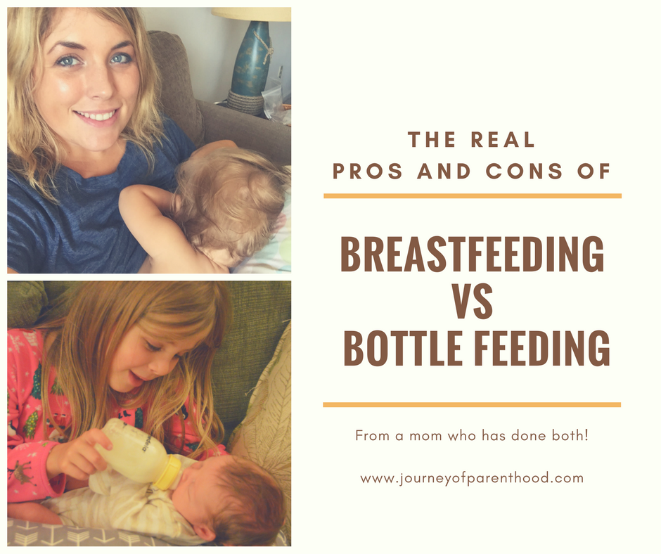 The Real Pros and Cons of Breastfeeding vs Bottle Feeding