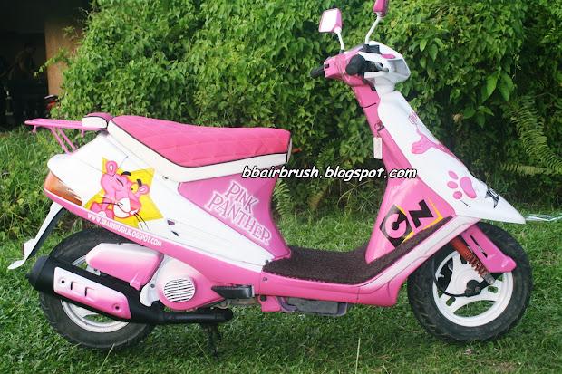 Suda Siap Pd 1 4 2013.pink Panther Fully Airbrush. Airbrush