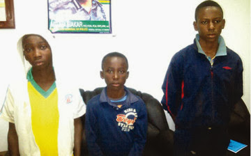 3 boys arrested at lagos airport