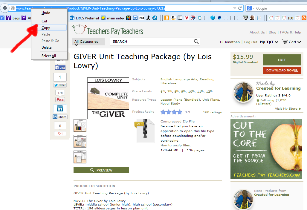 http://www.teacherspayteachers.com/Product/GIVER-Unit-Teaching-Package-by-Lois-Lowry-673212