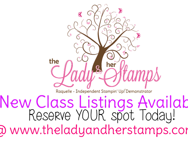New Class Listings Available {March & April}