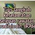 Tips keselamatan kesan radiasi rawatan radioiodin (RAI).
