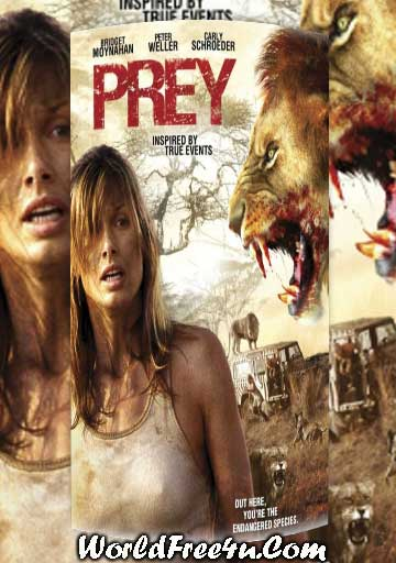 Poster Of Prey (2007) In Hindi English Dual Audio 300MB Compressed Small Size Pc Movie Free Download Only At worldfree4u.com