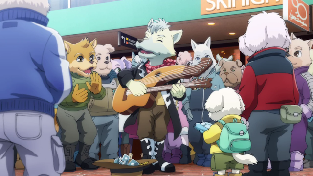 Star Fox Zero The Battle Begins dogs Corneria Cornerian society guitar furry