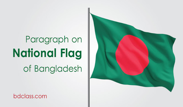 our national flag paragraph for jsc