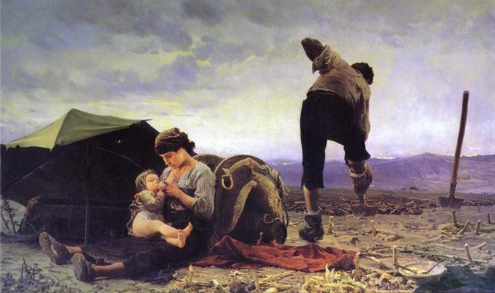 Il Verismo la pittura degli umili  TuttArt  Pittura