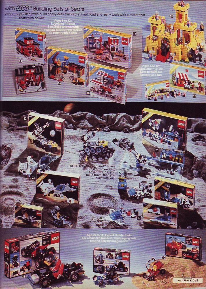 Lair of the Dork Horde Christmas Catalog Sears  1982