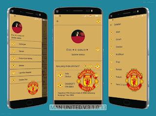BBM Manchester United ( MU ) V3.0.1.11 Apk Terbaru
